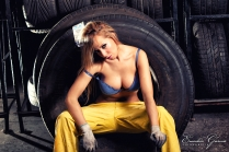 Eusebio Garcia Fotografia - Sesion Taller Mecanico Sexy - Laura 16
